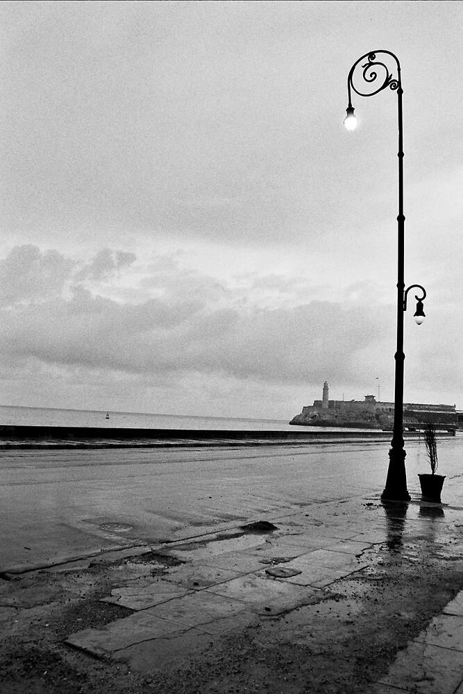 Havana, Cuba on a wet early morning. by Sven Klein