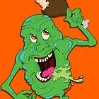 Ghostbusters: Slimer by Kenneth Shinabery
