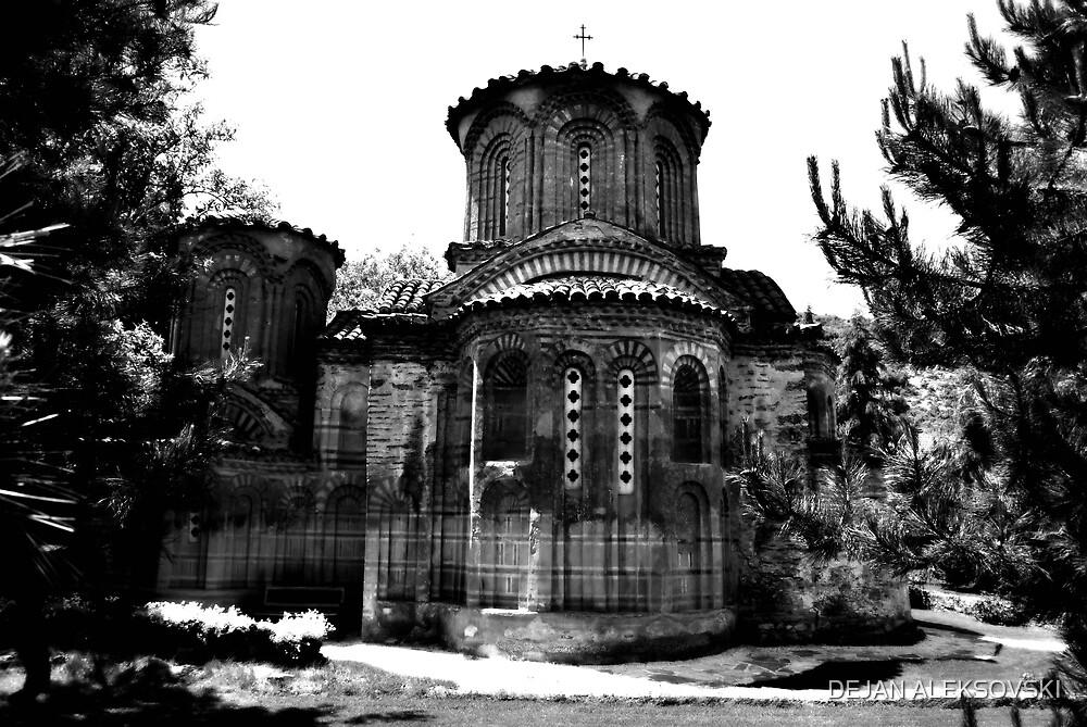 Monastery by DEJAN ALEKSOVSKI
