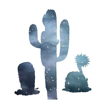Cactus Silhouette by GwendolynFrost