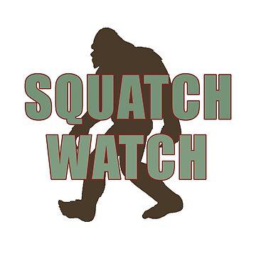 Squatch Watch by DedEye