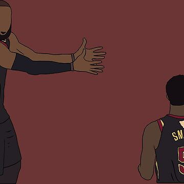 LeBron And JR by RatTrapTees