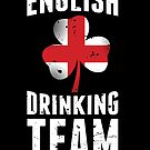 Union Jack Clover English Drinking Team Gift by Reutmor