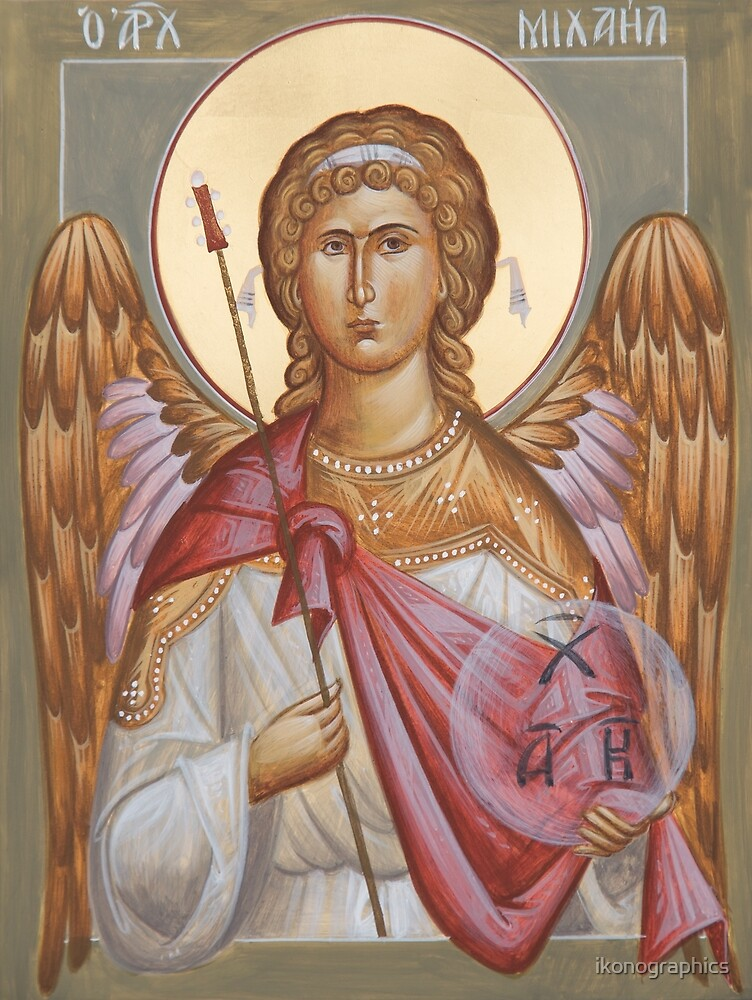 Archangel Michael by ikonographics