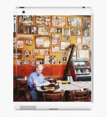 Cafe Trieste in San Francisco in Faux Oil iPad Case/Skin