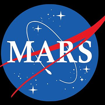 Nasa Logo Mars by idaspark