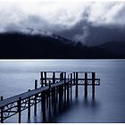 Dancing Clouds ... Lake Te Anau by Angelika  Vogel