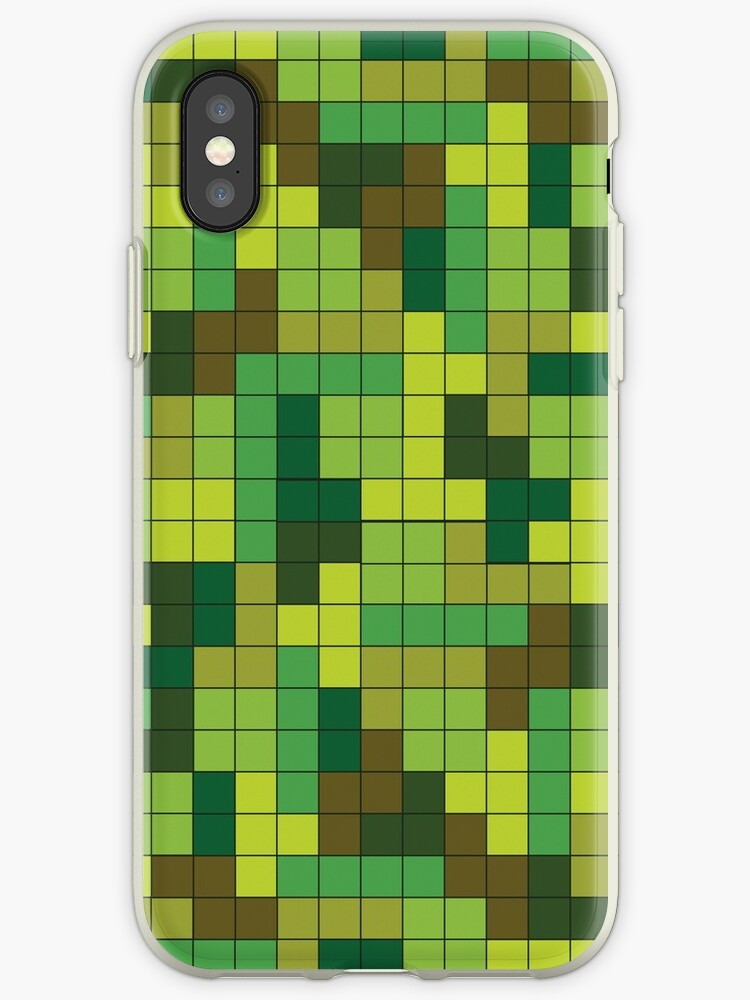 Tetris Camouflage Forest by jumpercat