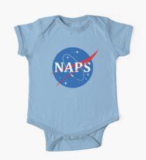 Nasa Logo Nickerchen Baby Body Kurzarm