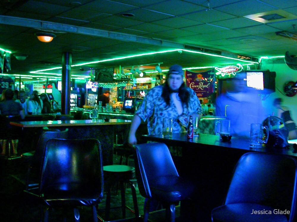 Karaoke night at the Crocodile Inn by Jessica Glade