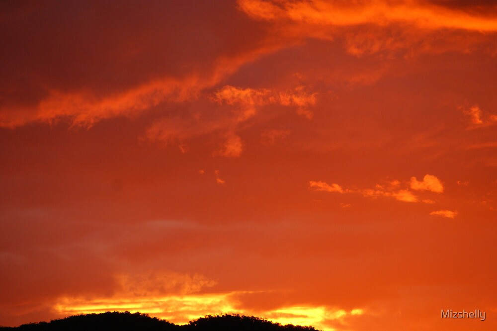 Apricot Sky Werris Creek by Mizshelly