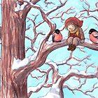 Bullfinches  by Embla Granqvist
