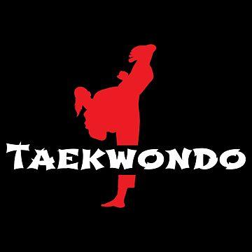 Taekwondo High Kicks Martial Arts - Gift Idea by vicoli-shirts