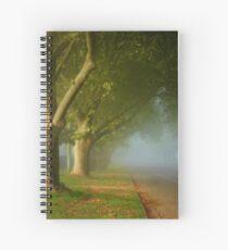 The fair luminous mist ... Spiral Notebook