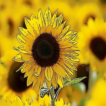 Sunflower Bliss by Deestylistic