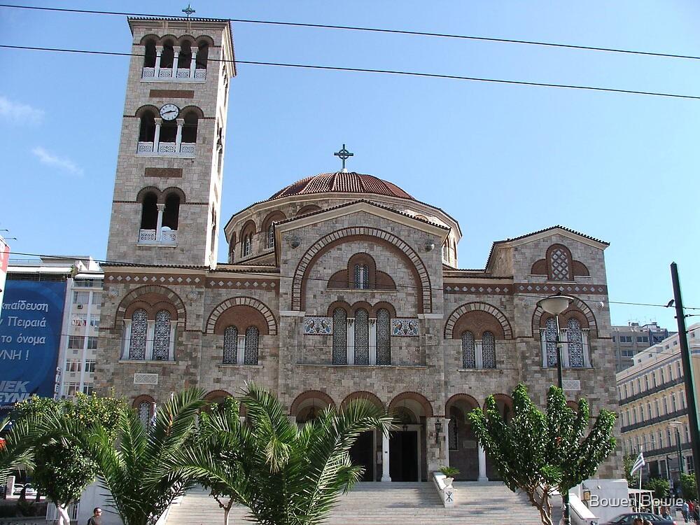 Church at Peiraias, Athens by Bowen Bowie-Woodham