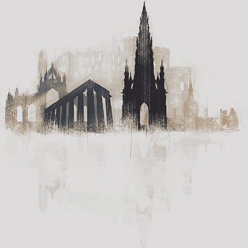 Edinburgh Sketchy by DimDom