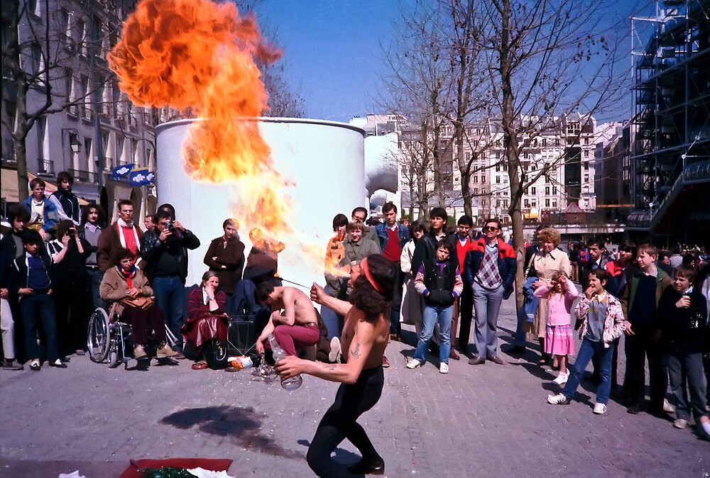 Fire Eater by Pascal and Isabella Inard