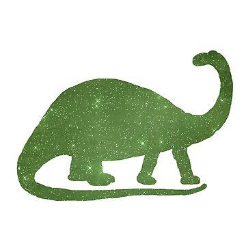 Dinosaur Brontosaurus by GwendolynFrost