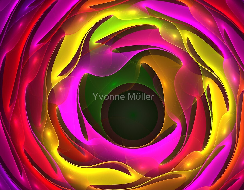 Colorful Psychedelic by Yvonne Müller