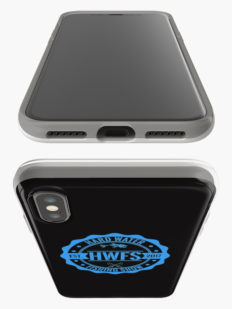 Alternate view of Hard Water Fishing Show - Merch iPhone Case & Cover