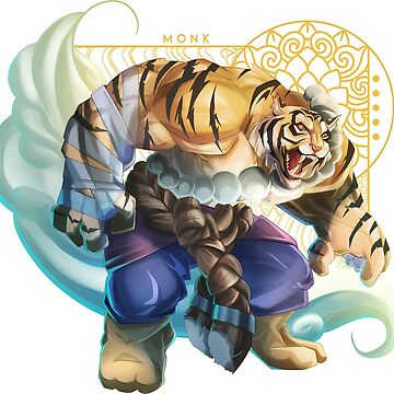 Tiger monk by Spirealle