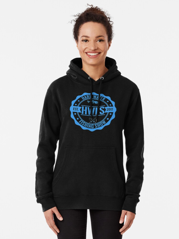 Alternate view of Hard Water Fishing Show - Merch Pullover Hoodie