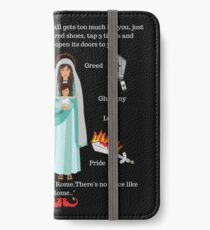 Tap three times to Heaven iPhone Wallet/Case/Skin