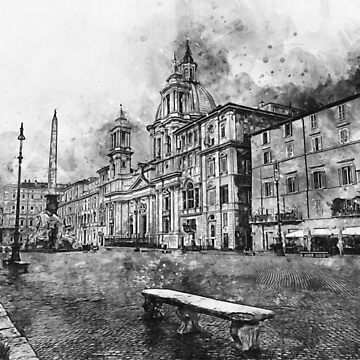 Rome, Piazza Navona by ErianAndre
