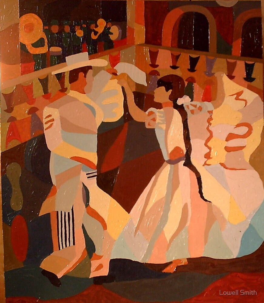 Dancers #3  by Lowell Smith