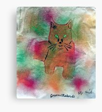 Picture cat Canvas Print