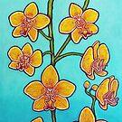 Orchid Azure Bliss by LisaLorenz