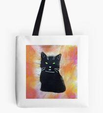 Picture black cat Tote Bag