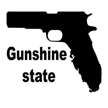 GUNSHINE STATE by thatstickerguy