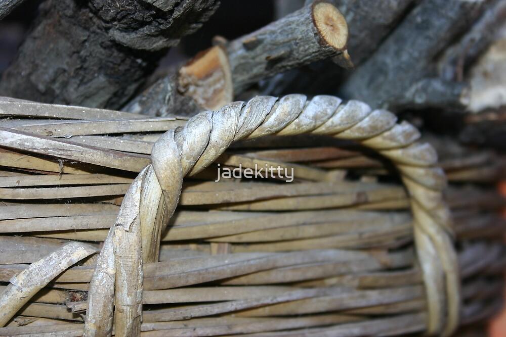 wicker basket by jadekitty