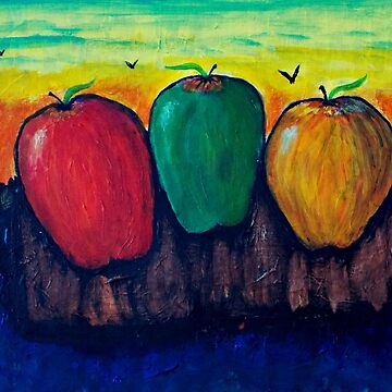 Apples on Mountainside by ditempli