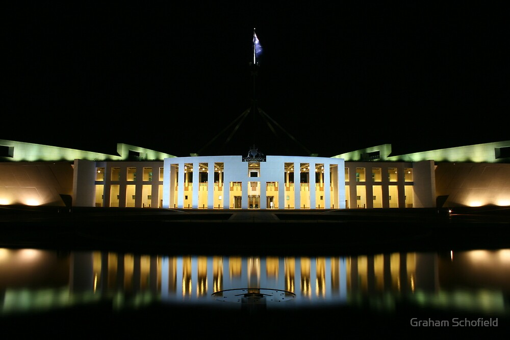 Parliament House by Graham Schofield