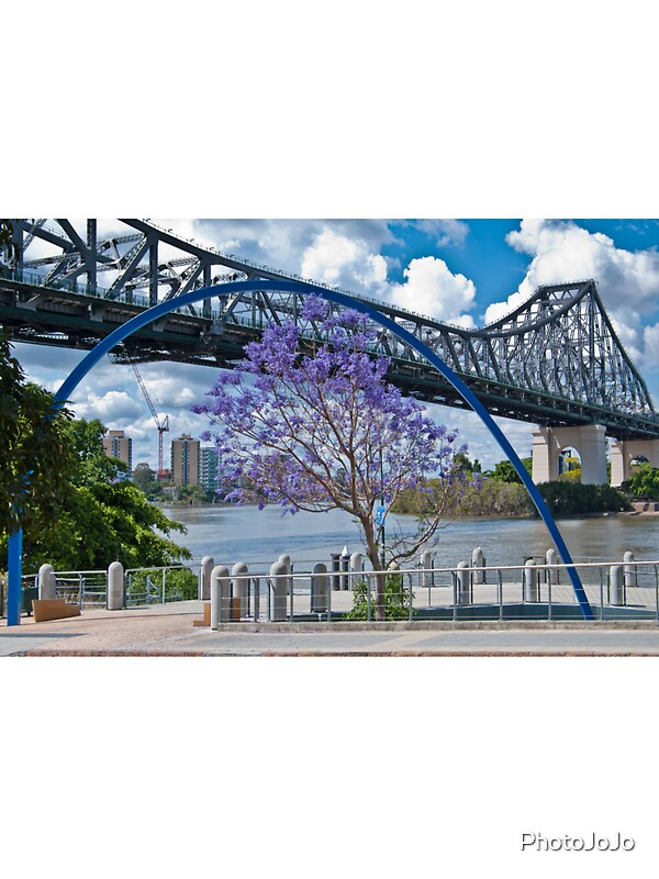 quot story bridge through arch brisbane australia quot stickers by qld stickers qld sticker designs label stickers