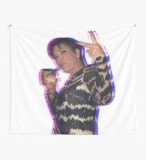 Trippy Kris Jenner Wall Tapestry