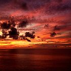 Special Sunset In The Indian Ocean by GedTKirk