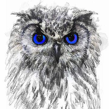GREY OWL by johnnyssandart
