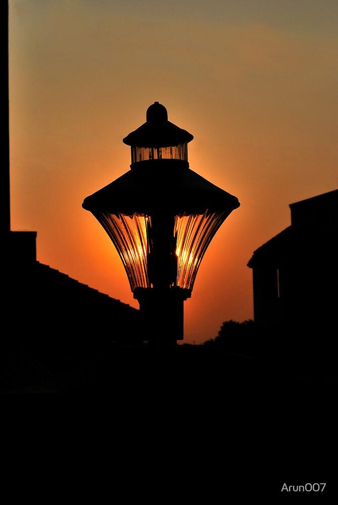 The raising Lamp by Arun007