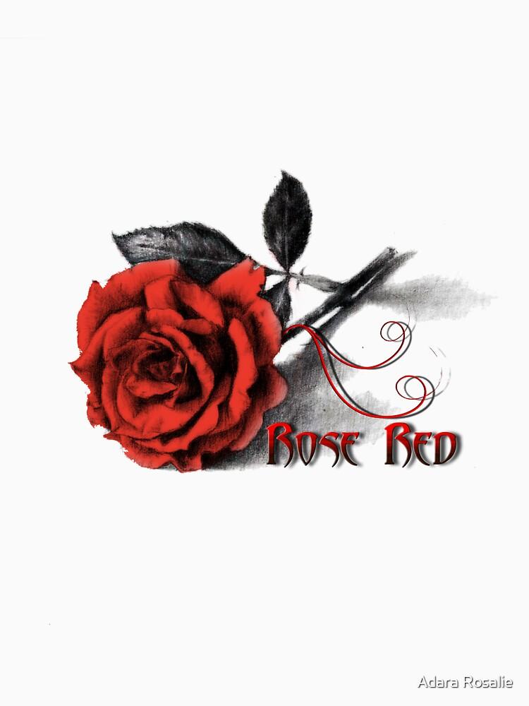 Rose Red - Simply Elegant  by jayderosalie