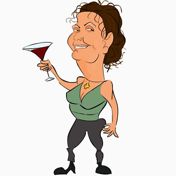 Donna's Funny Lookz caricature by funnylookz
