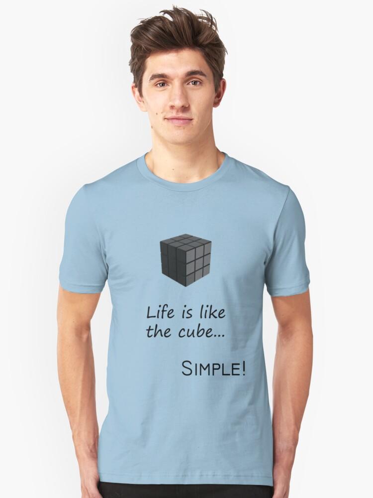 Life's Simple Unisex T-Shirt Front