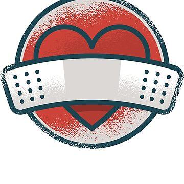 Band Aid For Heart by soondoock