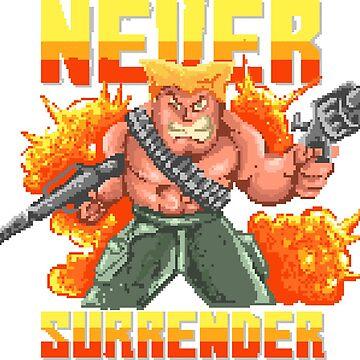 Never Surrender! by flipper42