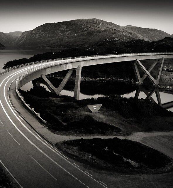 Kylesku Bridge by David Bowman
