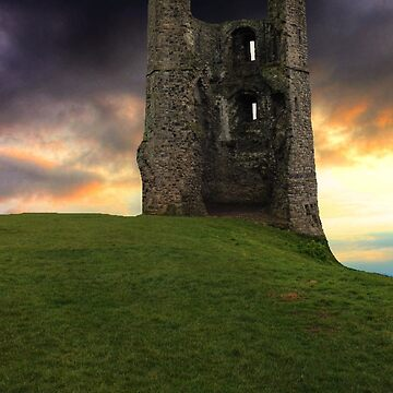 Sunset at Hadleigh Castle by ViczS