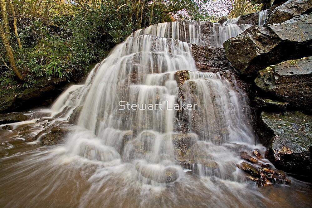 Blea Hill Beck Falls  by Stewart Laker